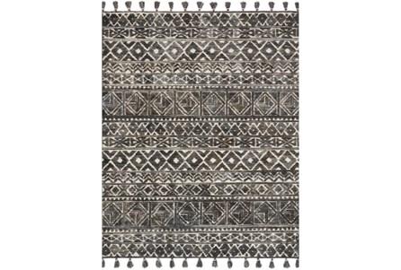 93X117 Rug-Magnolia Home Teresa Ivory/Charcoal By Joanna Gaines