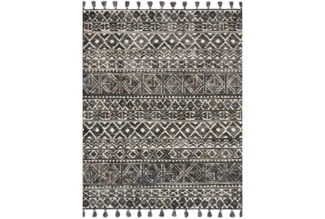 93X117 Rug-Magnolia Home Teresa Ivory/Charcoal By Joanna Gaines - 360