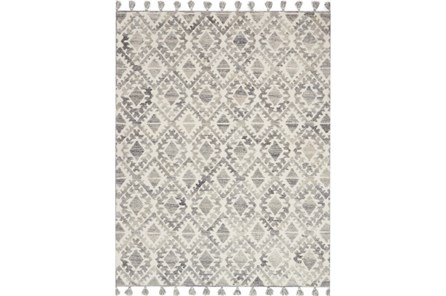 60X90 Rug-Magnolia Home Teresa Ivory/Silver By Joanna Gaines