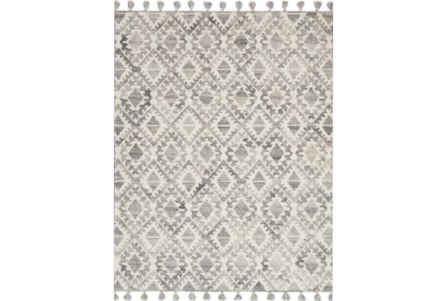 60X90 Rug-Magnolia Home Teresa Ivory/Silver By Joanna Gaines - 360
