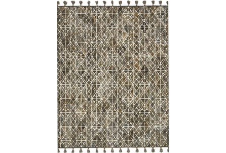 93X117 Rug-Magnolia Home Teresa Ivory/Olive By Joanna Gaines