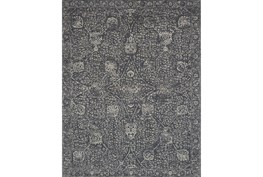 60X96 Rug-Magnolia Home Tristin Charcoal/Charcoal By Joanna Gaines