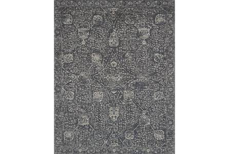 90X114 Rug-Magnolia Home Tristin Charcoal/Charcoal By Joanna Gaines