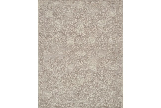 90X114 Rug-Magnolia Home Tristin Taupe/Taupe By Joanna Gaines - 360