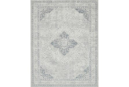 90X114 Rug-Magnolia Home Tristin Ivory/Ivory By Joanna Gaines