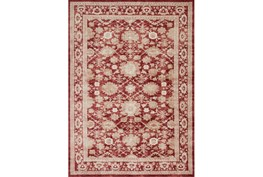 63X90 Rug-Magnolia Home Trinity Crimson By Joanna Gaines