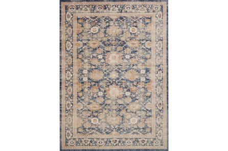 63X90 Rug-Magnolia Home Trinity Navy By Joanna Gaines