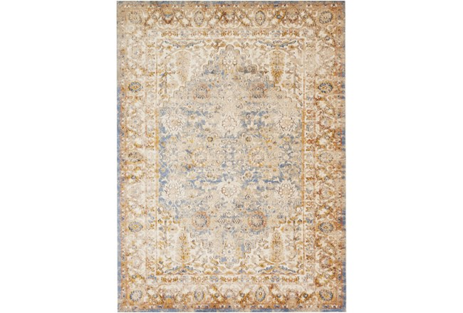 63X90 Rug-Magnolia Home Trinity Blue/Multi By Joanna Gaines - 360