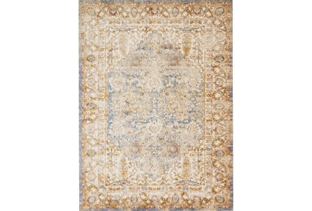 94X130 Rug-Magnolia Home Trinity Blue/Multi By Joanna Gaines