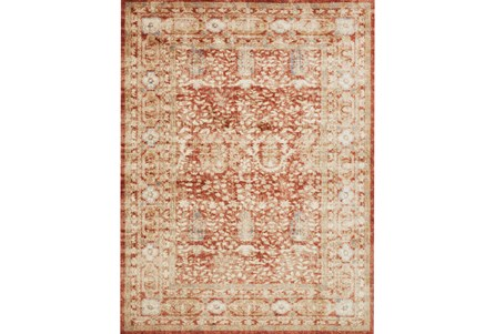 63X90 Rug-Magnolia Home Trinity Terracotta By Joanna Gaines