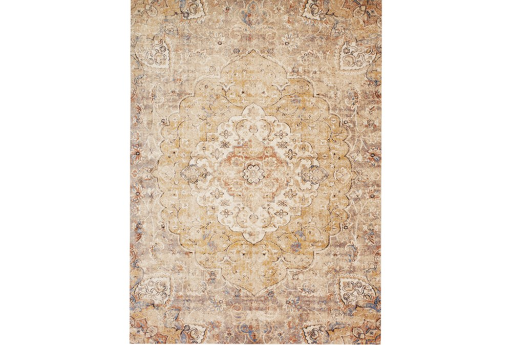 63X90 Rug-Magnolia Home Trinity Antique Ivory/Sand By Joanna Gaines