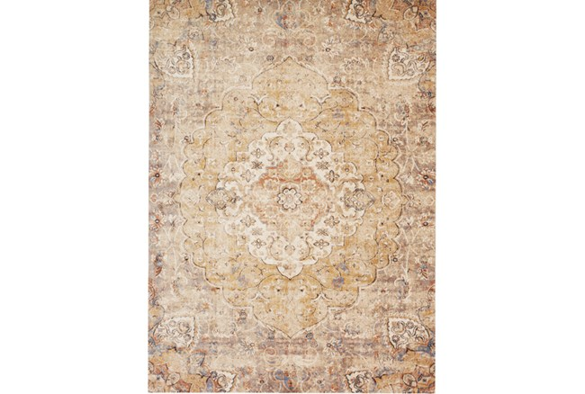 94X130 Rug-Magnolia Home Trinity Antique Ivory/Sand By Joanna Gaines - 360