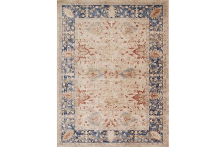 63X90 Rug-Magnolia Home Trinity Sand/Blue By Joanna Gaines - Main