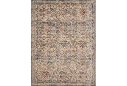 94X130 Rug-Magnolia Home Trinity Taupe/Multi By Joanna Gaines