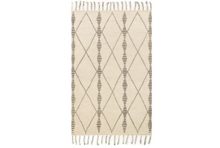 66X102 Rug-Magnolia Home Tulum Ivory/Pebble By Joanna Gaines