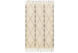 93X117 Rug-Magnolia Home Tulum Ivory/Pebble By Joanna Gaines