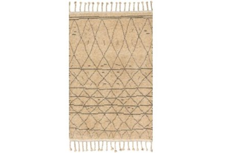 66X102 Rug-Magnolia Home Tulum Natural/Grey By Joanna Gaines