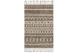 66X102 Rug-Magnolia Home Tulum Ash/Ivory By Joanna Gaines