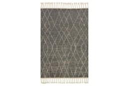 66X102 Rug-Magnolia Home Tulum Grey/Ivory By Joanna Gaines
