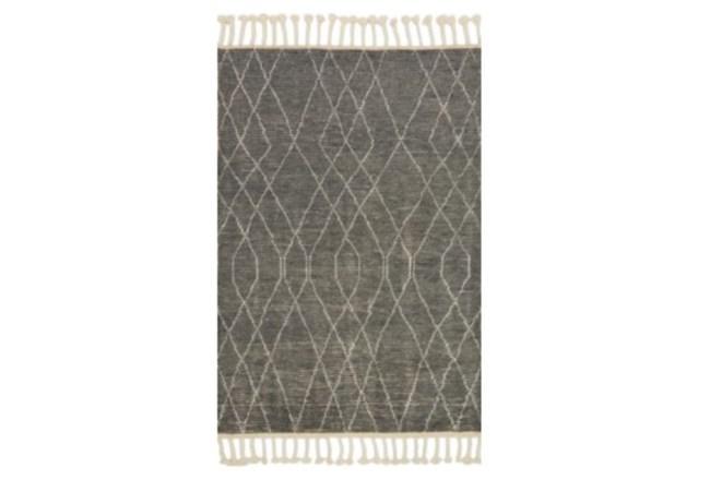 66X102 Rug-Magnolia Home Tulum Grey/Ivory By Joanna Gaines - 360