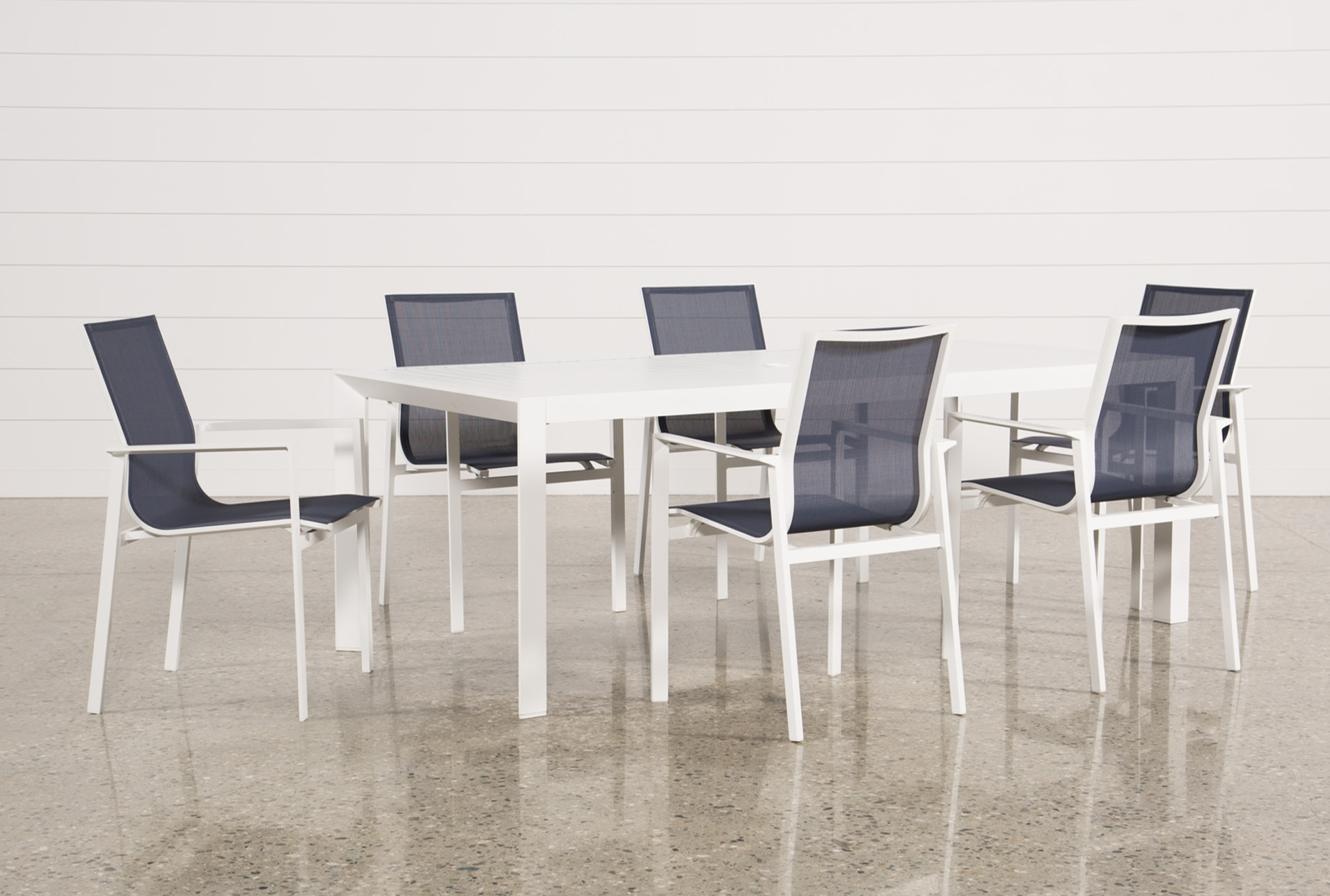 Outdoor Biscayne II Dining Table With 6 Chairs (Qty: 1) Has Been  Successfully Added To Your Cart.