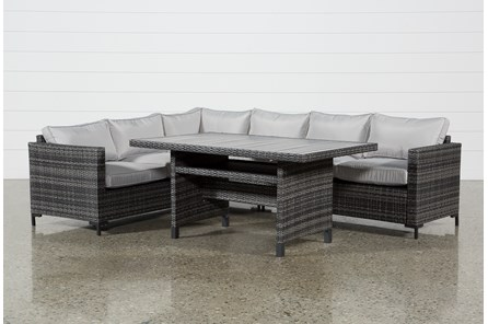 Outdoor Domingo Banquette Lounge - Main