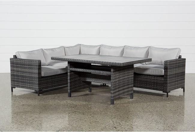 Outdoor Domingo Banquette Lounge - 360