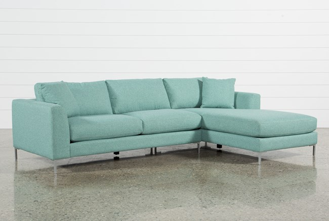 Romy 2 Piece Sectional W/Raf Chaise - 360