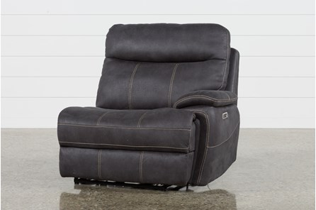 Denali Charcoal Grey Raf Power Recliner W/Power Headrest & Usb - Main