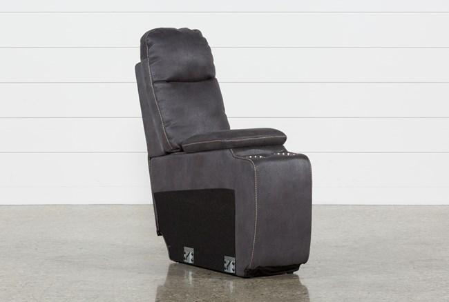 Denali Charcoal Grey Console - 360