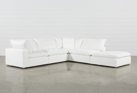 Serenity 4 Piece Sectional W/Ottoman