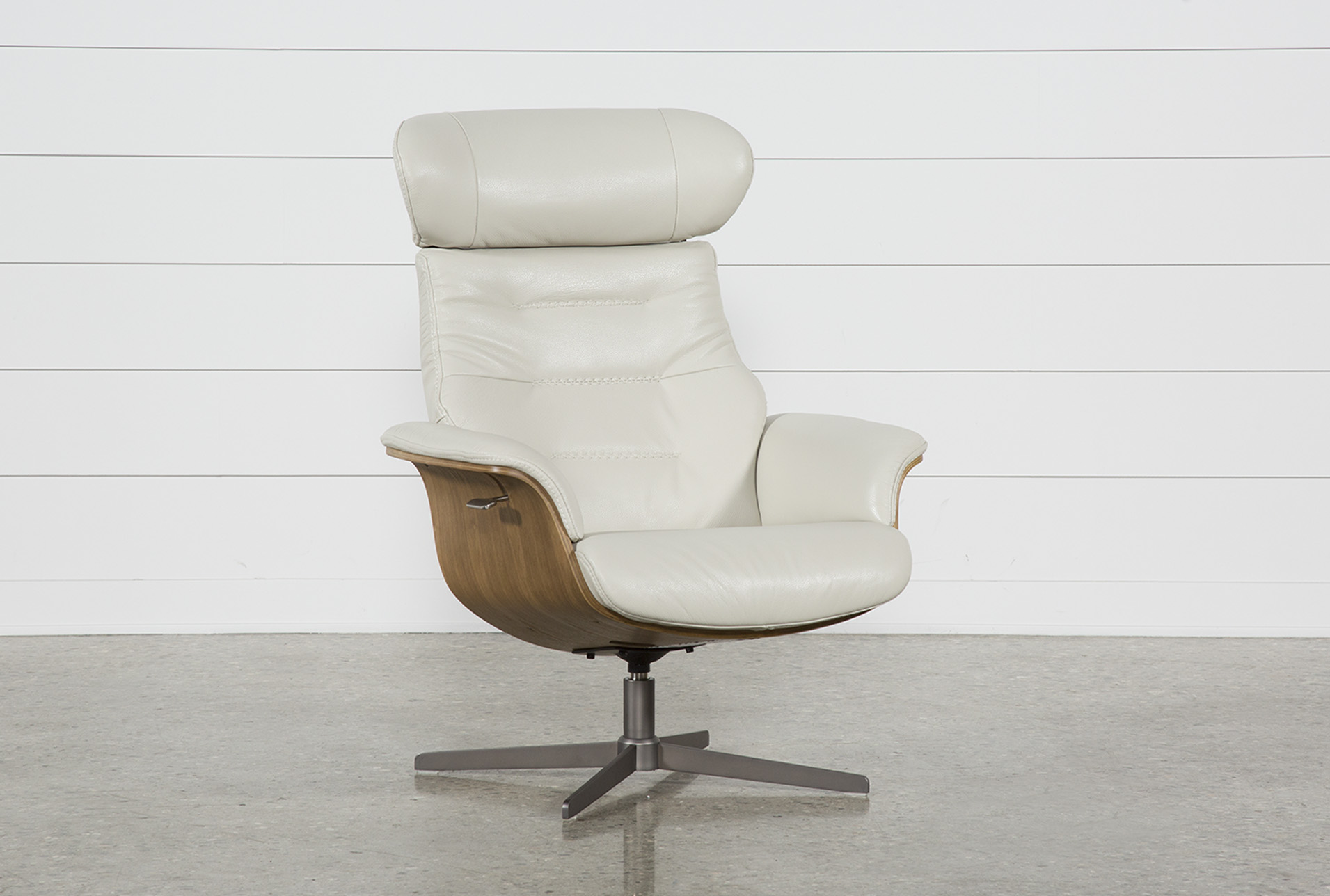 Amala Bone Leather Reclining Swivel Chair (Qty: 1) Has Been Successfully  Added To Your Cart.