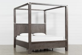 Helms California King Canopy Bed