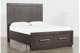 Helms Eastern King Panel Storage Bed
