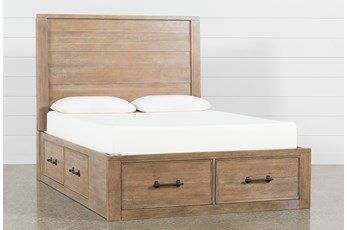 Conrad California King Panel Bed With Storage