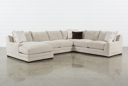 Davis 4 Piece Sectional W/Laf Chaise
