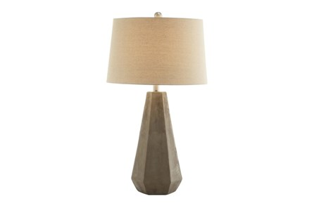Table Lamp- Geo Shape Concrete