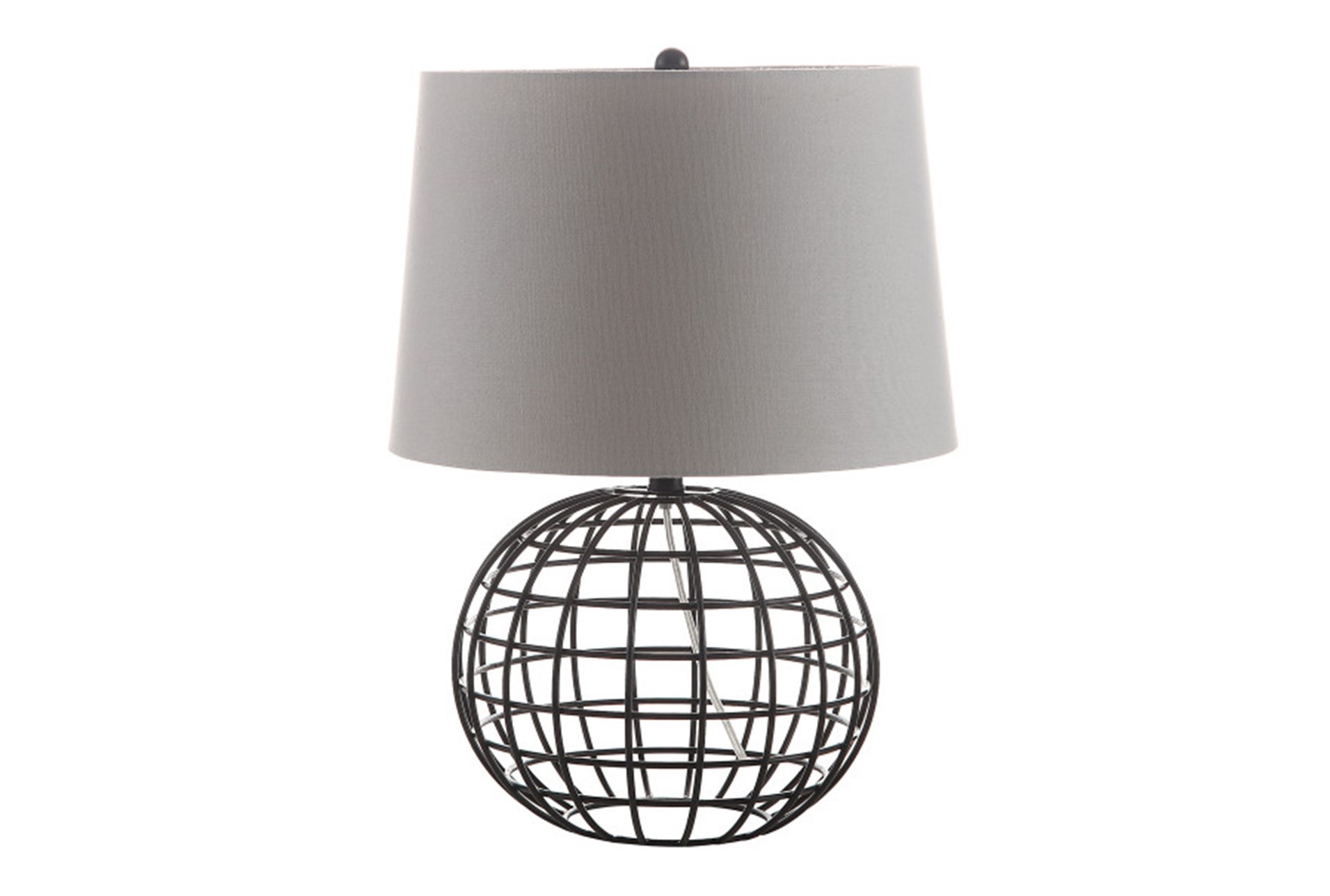 Table Lamp Caged Sphere Living Spaces