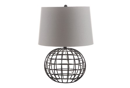 Table Lamp-Caged Sphere
