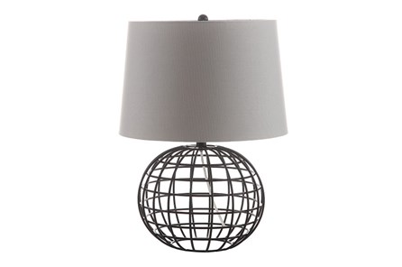 Table Lamp-Caged Sphere - Main