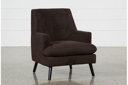 Woz Dark Chocolate Accent Chair - Main