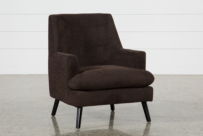 Woz Dark Chocolate Accent Chair - 360