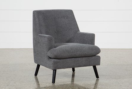 Woz Dark Grey Accent Chair