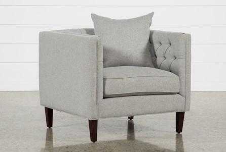 Bennett II Silver Chair