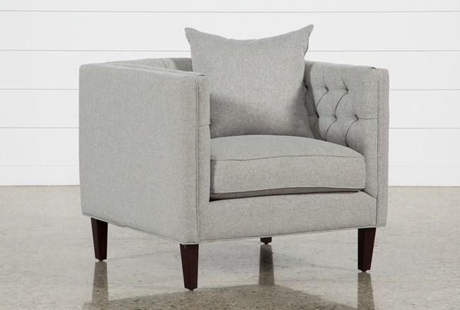 Bennett II Silver Chair - 360