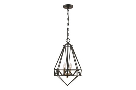 Pendant-Meir Black 2 Light - Main