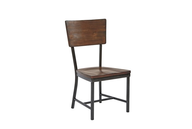 Magnolia Home Contour Milk Crate Side Chair By Joanna Gaines - 360