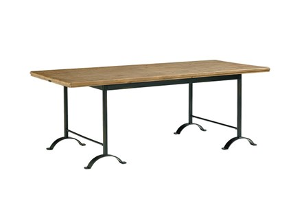 Magnolia Home Camber Metal Dining Table By Joanna Gaines - Main
