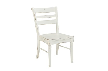 Magnolia Home Kempton White Side Chair By Joanna Gaines - Main