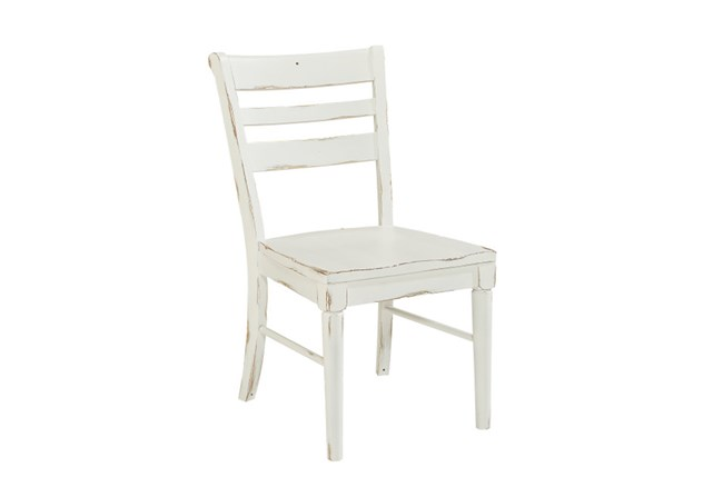 Magnolia Home Kempton White Side Chair By Joanna Gaines - 360